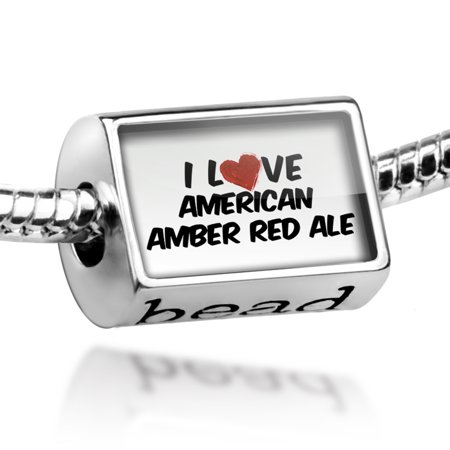 Bead I Love American Amber Red Ale Beer Charm Fits All European