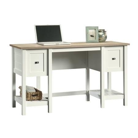 Sauder Cottage Road Desk, Soft White Finish ()
