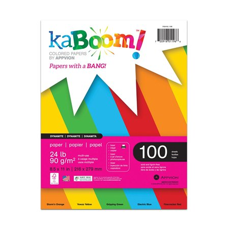 - Dynamite Primary Assorted Colored Paper for Creative Printing 8.5