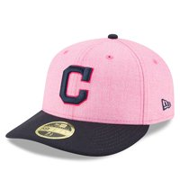Cleveland Indians New Era 2018 Mother's Day On-Field Low Profile 59FIFTY Fitted Hat - Pink/Navy