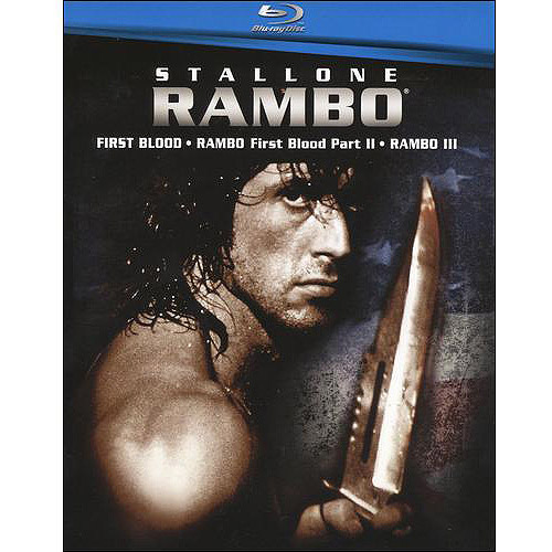 Rambo 1-3 Box Set: First Blood / Rambo: First Blood, Part 2 / Rambo III (Blu-ray) (Widescreen)