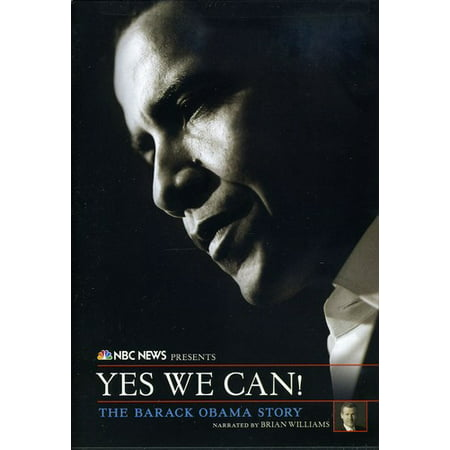 NBC News: Yes We Can! The Barack Obama Story (DVD)