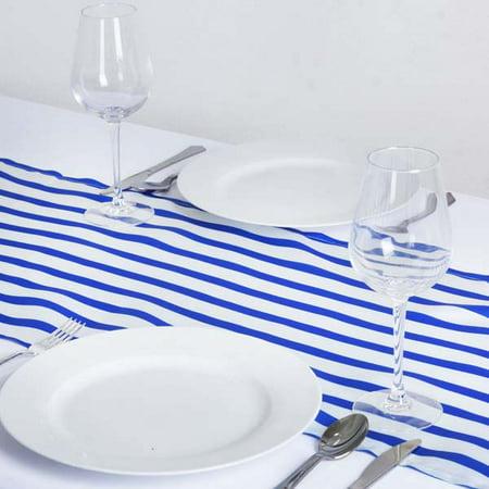 Efavormart Ever Lovable Stripes Table Runner