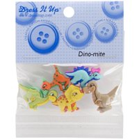 Dress It Up Embellishments-dino-mite