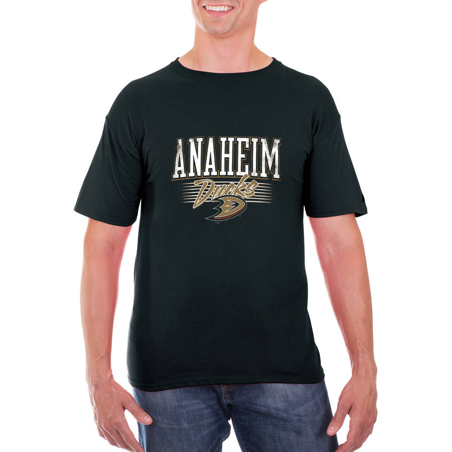 NHL Anaheim Ducks Men's Classic-Fit Cotton Jersey T-Shirt