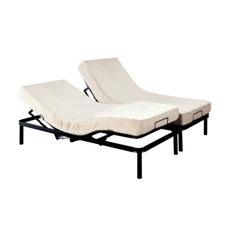 Furniture Of America Fox I King Adjustable Bed Frame In