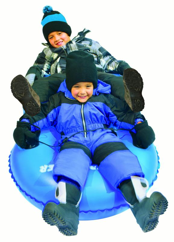 Slippery Racer AirDual 2-Rider Snow Tube Sled by Slippery Racer