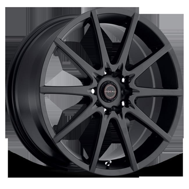 ULTRA 4286718SB4 428 Series F04 Wheel - 16 X 7, Satin Black - image 1 of 1
