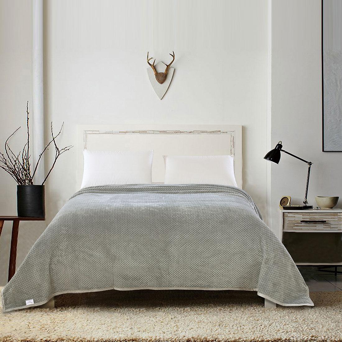 Premium Plush Throw Blanket Super soft Fleece Blanket,Twin,Full,Queen,King Size
