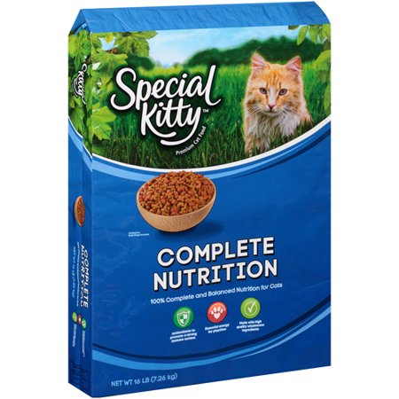 Special Kitty Cat Food Ingredients
