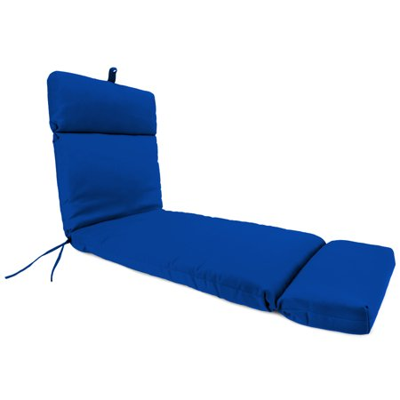 Jordan manufacturing outdoor patio chaise cushion pacific for Blue chaise cushions