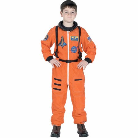 Halloween Costume Ideas Suit (Orange Astronaut Suit Child Halloween)