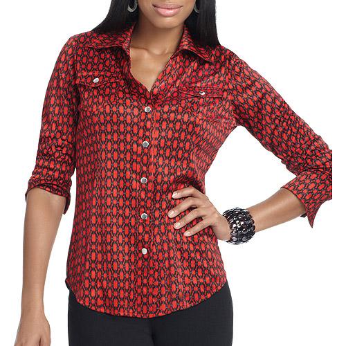 Miss Tina - Women's Button Down Shirt