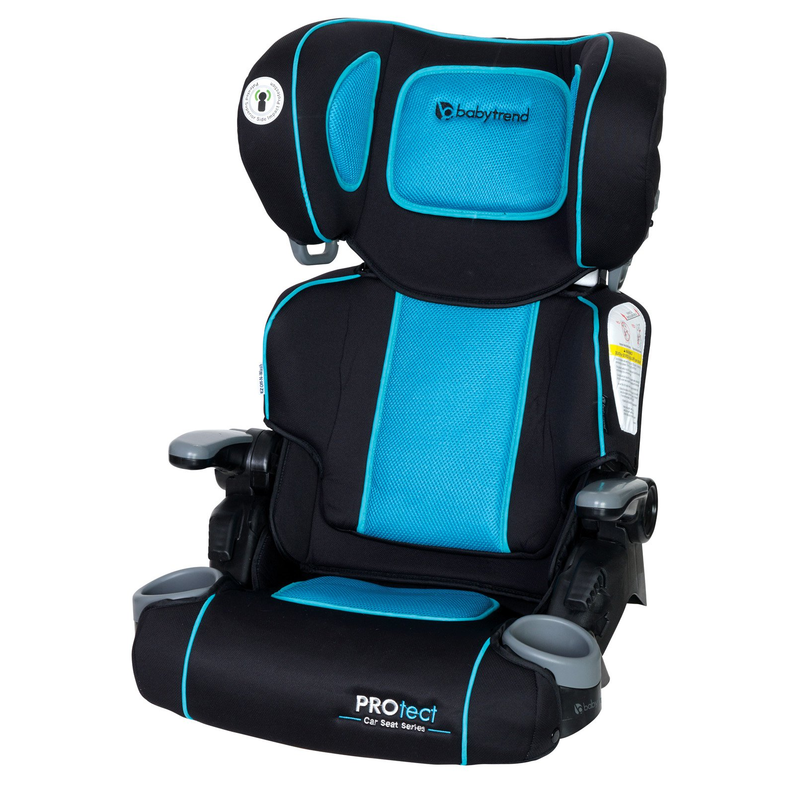 Baby Trend PROtect Yumi Folding High Back Booster Car Seat, Hydra