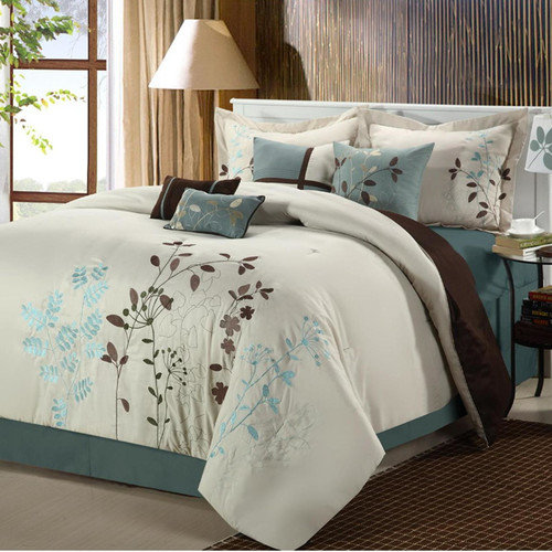 Chic Home Bliss Garden 12 Piece Comforter Set