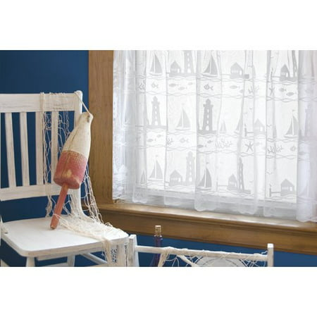 Heritage Lace Harbor Lights Tier curtain