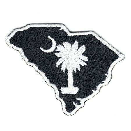 South Carolina State Logo Iron On - South Carolina Applique