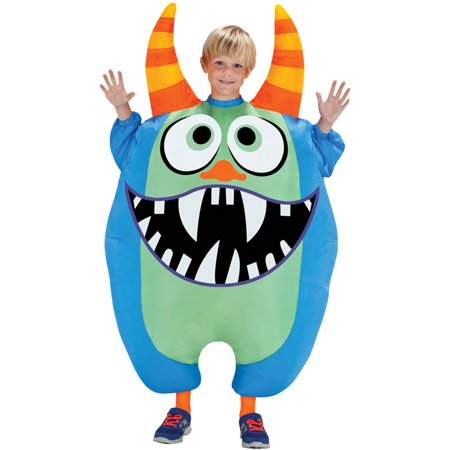 Morris costumes SS55177G Inflate Scareblown Blue - Inflated Costumes