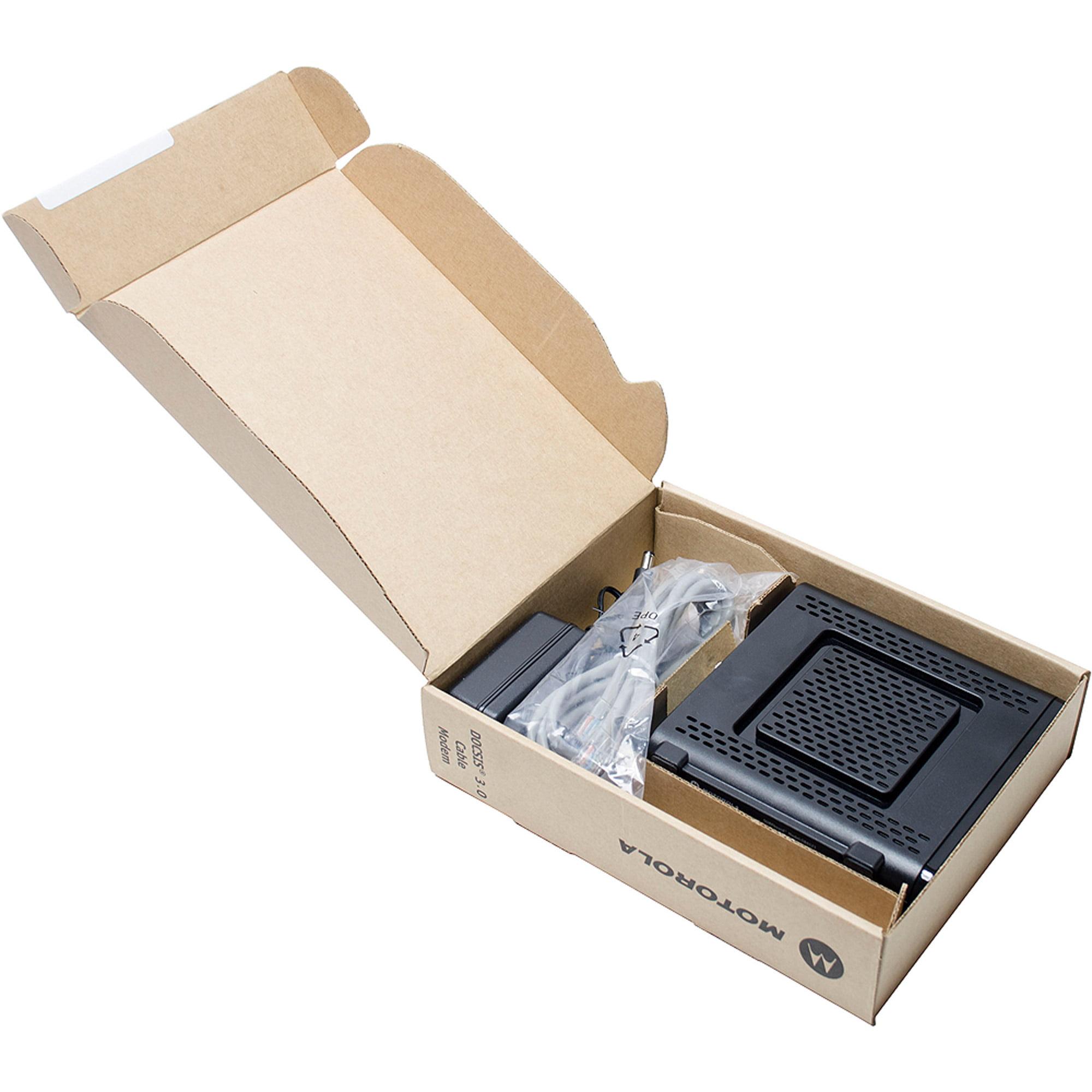 Refurbished Arris Surfboard Sb6121 Docsis 30 Cable Modem 100mbps Internet Connection Using A Motorola