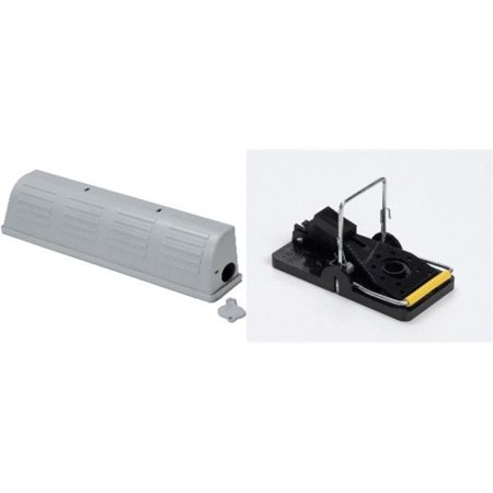 Kness Snap-E- Cover Gray   Kness Snap-E- Mousetrap Twin Pack ()