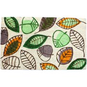 J and M Home Fashions Harvest Leaves Doormat