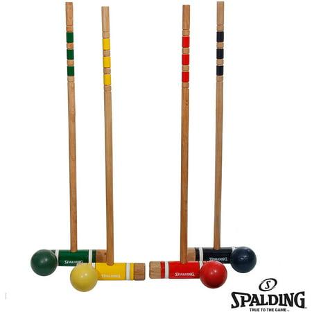 Spalding Recreational Croquet Set, 26