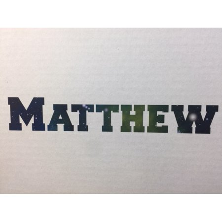 Cheap Teen Decor (Personalized Name Vinyl Decal Sticker Custom Initial Wall Art Personalization Decor Sticker Galaxy Print Pattern Design Teen Kids Bedroom 4 Inches X 10)