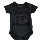 Religion Unisex Baby's Skull & Crossbones Bodysuit