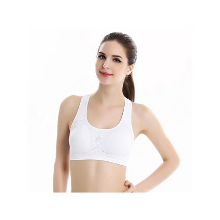 187aa6d772 Sweetsmile - SWEETSMILE Women Breathable Sport Fitness Bra