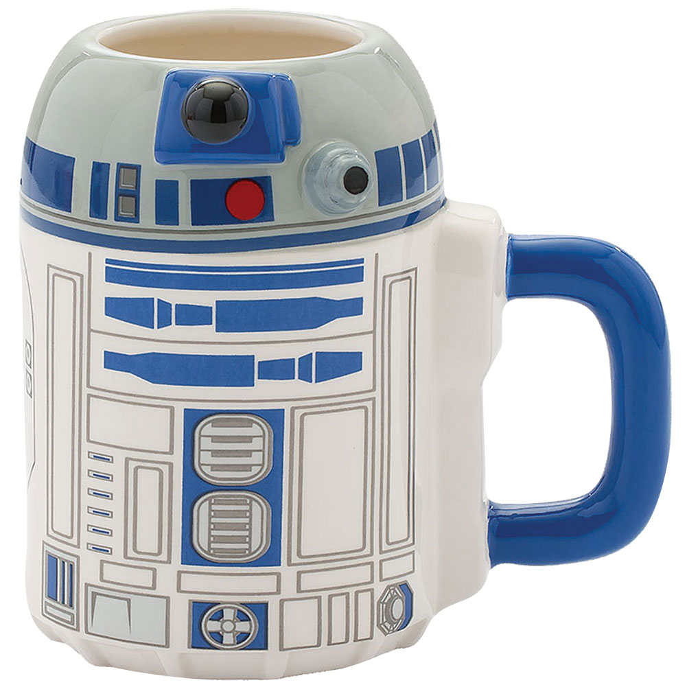 Star Wars R2-D2 Sculpted Character 20 Ounce Coffee Cup Mug - Microwave Safe