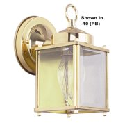 "Sunset Lighting F6840 1 Light 8"" Height Outdoor Wall Sconce"