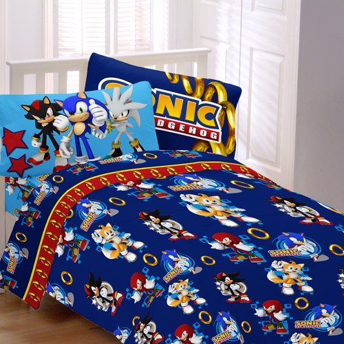 Sonic Sd Bedding Sheet Set