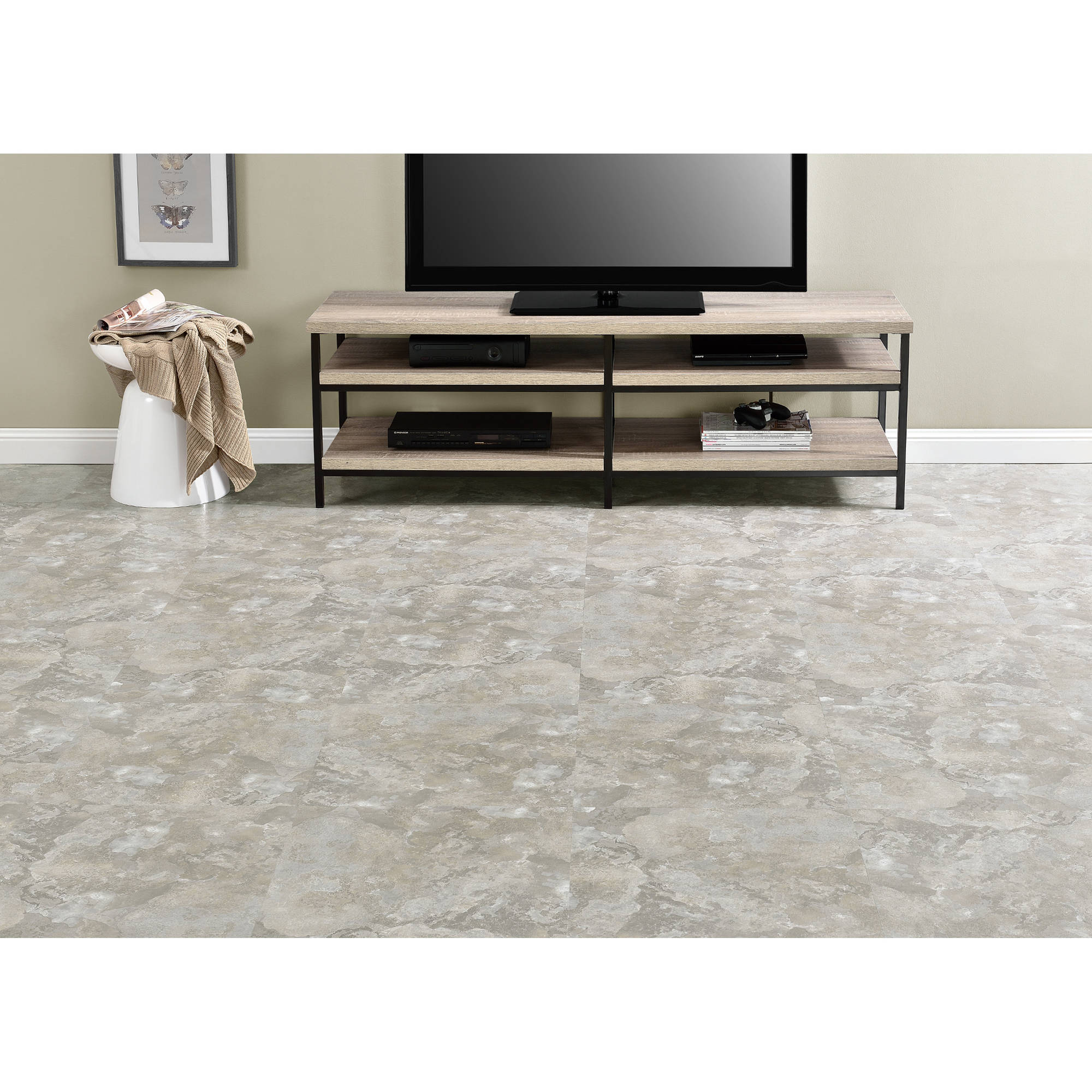 18 floor tile gallery home flooring design majestic light gray slate 18x18 20mm vinyl floor tile 10 tiles majestic light gray slate 18x18 doublecrazyfo Choice Image
