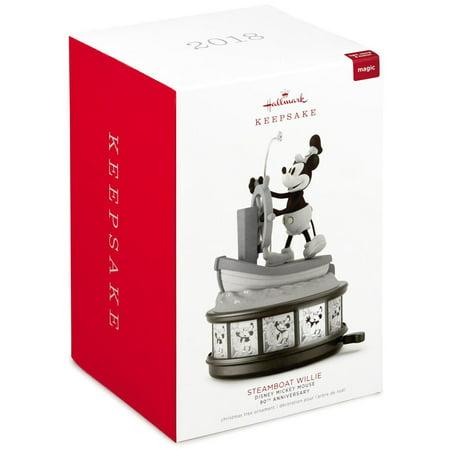 Hallmark Keepsake 2018 Disney Mickey Mouse Steamboat