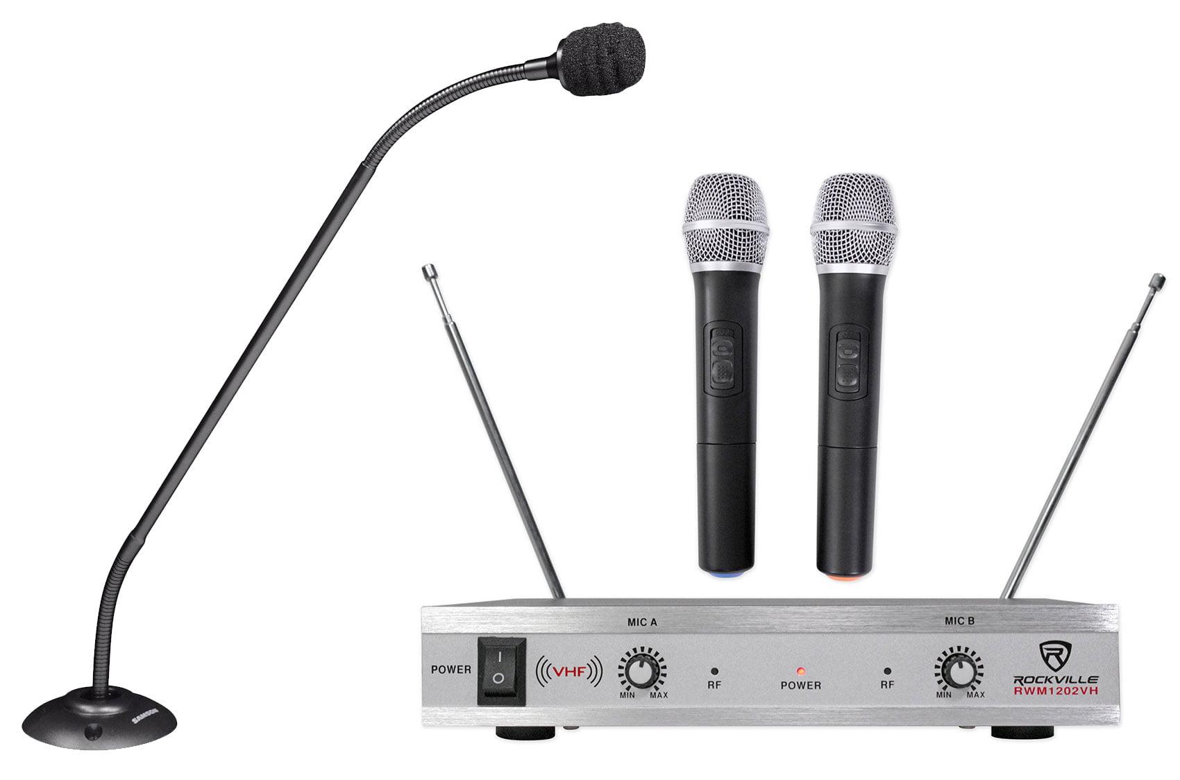"Samson CM20P 20/"" Podium Microphone Church Altar Mic Professional Headphones"