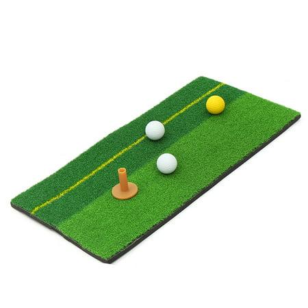 Golf Putting Training Mats Nylon Turf Chipping Driving ...