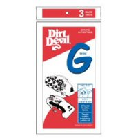 """Dirt Devil Replacement Vacuum Cleaner Bag (Pack of 3), Style """"G"""" By Royal"""