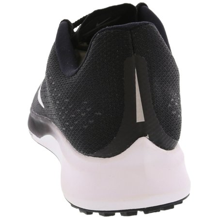 separation shoes 94af6 90a6f Nike Women's Air Zoom Elite 10 Black / White Volt Ankle-High ...