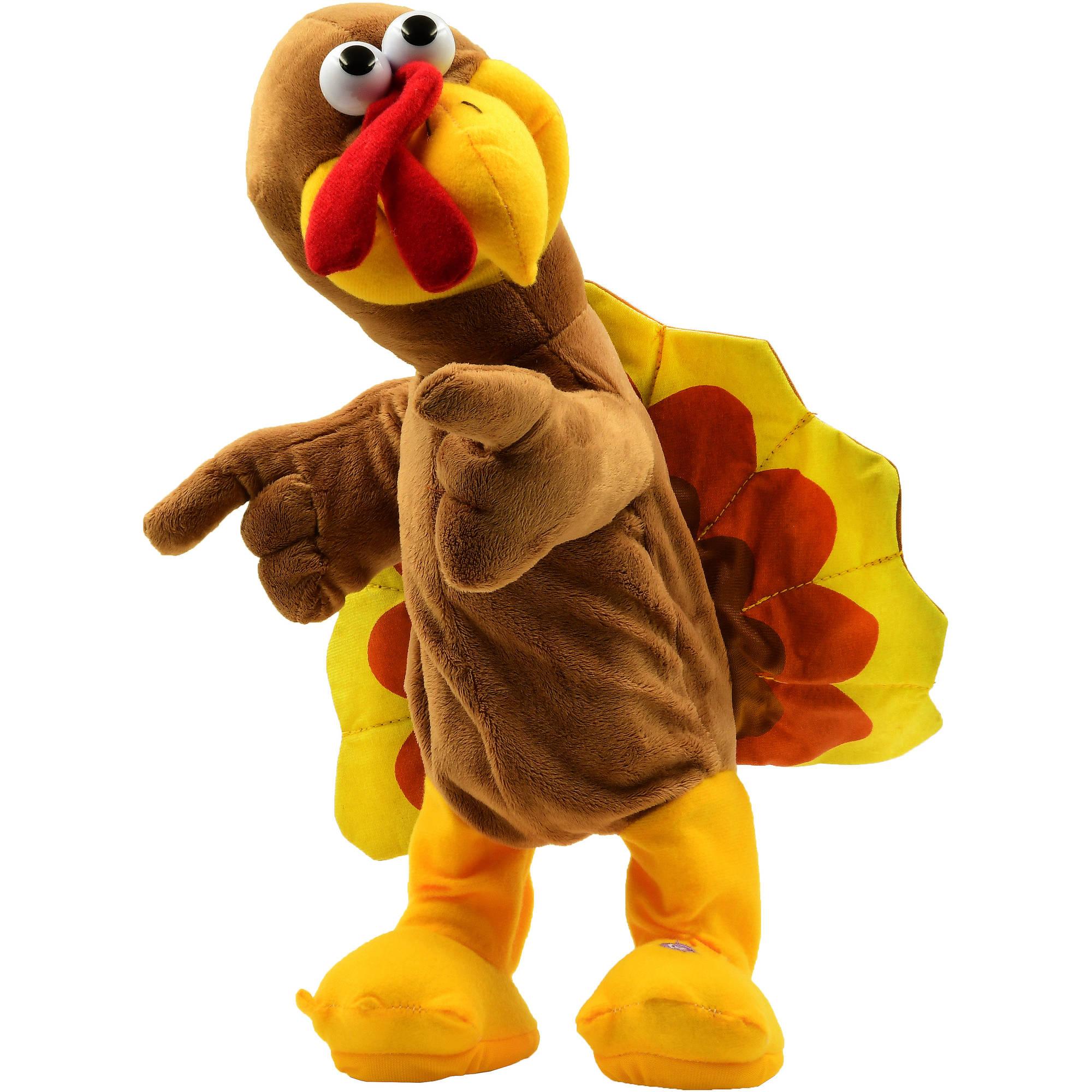Harvest Animt Plush Turkey Walmart Com