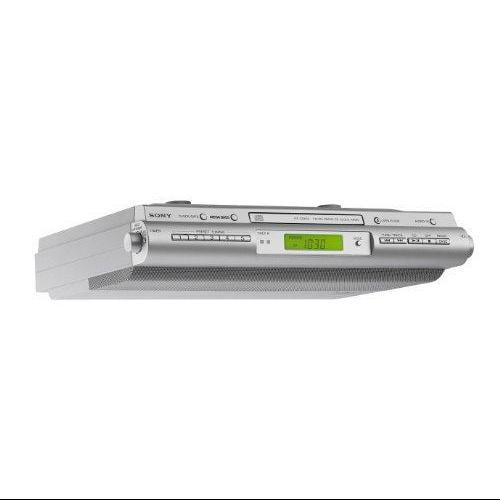 Sony Icfcdk50 Under-cabinet Kitchen Clock Radio - Walmart.com