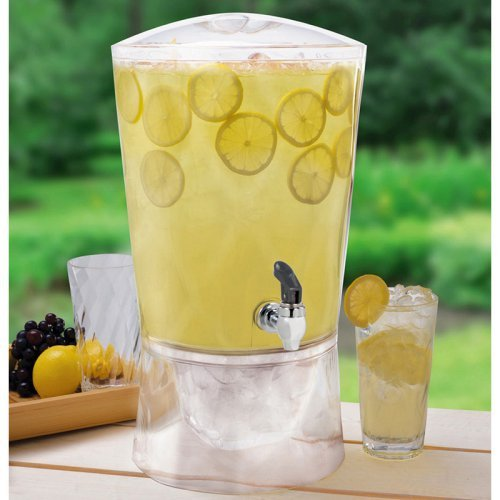 Creative Bath 3 gal. Sculptured Beverage Dispenser