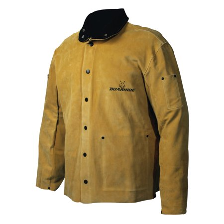 Caiman Caiman Boarhide Leather Welding Jackets, X-Large, Boarhide Pigskin Leather ()