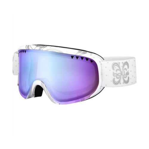 *Bolle Goggles 21321 Shiny White Night Aurora Scarlett by Supplier Generic