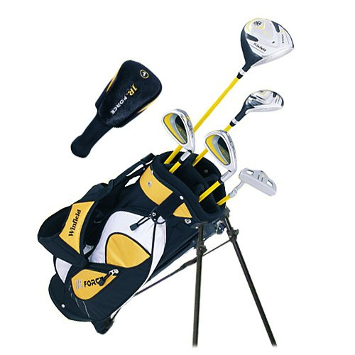 Winfield Junior Force Kids Golf Clubs Set / Ages 5-8 Yellow / Right Hand