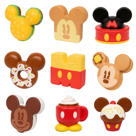 Disney Squeezies-Mickey-By Enzo Kawaii- 2 Pack Blind Pack Bundle