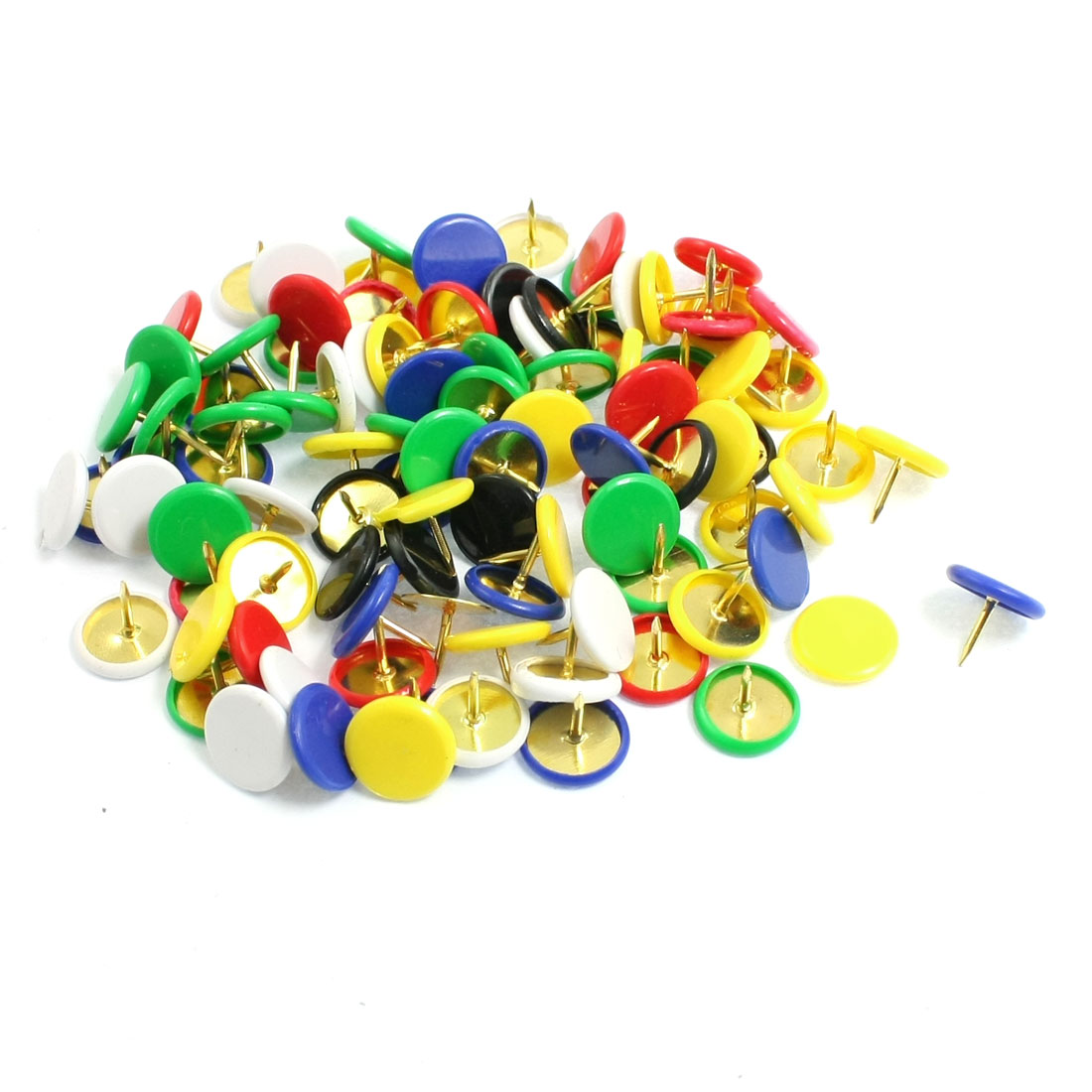 Unique Bargains 95 Pcs Home/Office Board Map Push Pins Thumbtacks w Steel Point