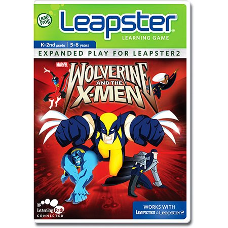 Leapster Handheld Learning Game System (LeapFrog Leapster Learning Game: Wolverine (New Open Box))