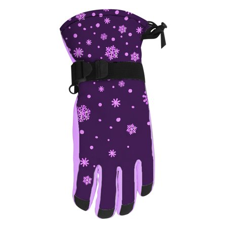 Cold Front Girl's Technical Snowboard Gloves (4-6)