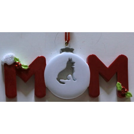 Dog Mom Personalized Christmas Ornament DO-IT-YOURSELF - Personalized M&m
