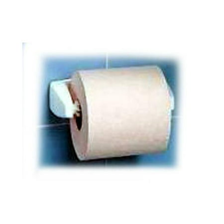 White Self-gluing Toilet Tissue Holder, Home Products, - White Toilet Tissue Holder
